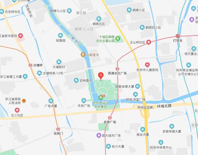 杭州西湖环球一号地址